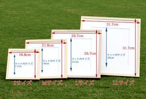 あなた絵(オーダー絵画)Mサイズ 額21.8cm/辺 1名〜3名様用
