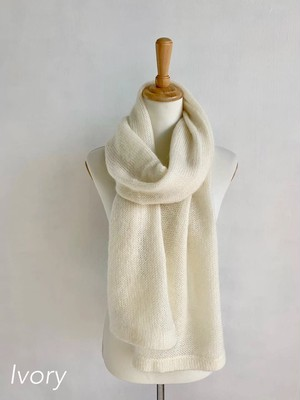 Bilitis dix-sept ans (ビリティス・ディセッタン)  Mohair Stole