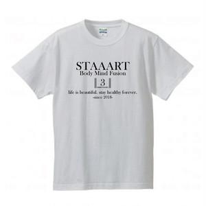STAAART3周年記念Tシャツ(ホワイト)