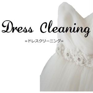 クリーニング・ウェディングドレス (通常納品)