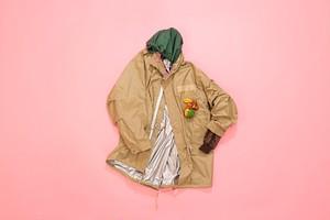 Inside out Mods coat 【BEIGE】