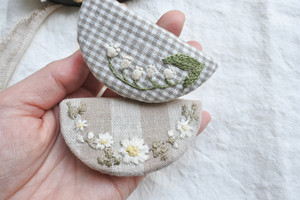 atelier N 「natural✽hair clip  」ヘアクリップ H86,87