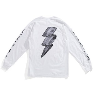 WAY OUT EAST / THUNDER BACON LS-T WHITE