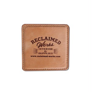 Hand Made Leather Coaster