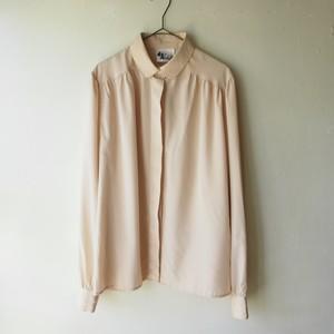 Sweden/vintage round collar blouse