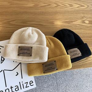 〈1周年記念リクエスト〉ラベル入りニット帽【label knit hat】