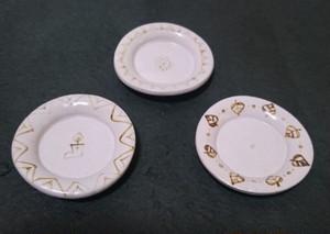 豆皿(柄ホワイト)