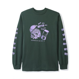 BUTTER GOODS ENEMY L/S TEE FOREST