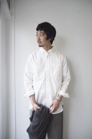 【ordinary fits】INVISIBLE B/D SHIRTS/OM-S076