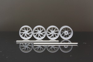 8.5mm Hyper Foorged Dic タイプ 3Dプリント ホイール 1/64 未塗装
