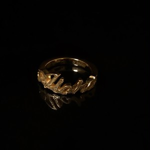 24kgp Hawaiian jewelry ring(aloha)
