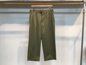 """CURLY""""ADVANCE WIDE TROUSERS OLIVE"""""""