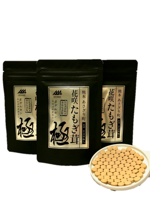 【熊本県産】【送料無料】あさぎり町花咲たもぎ茸 「極 -kiwami-」錠剤240粒(48g)×3袋セット