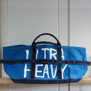 ULTRA HEAVY × TEMBEA BLACK HOLE TOTE BAG