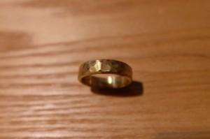 真鍮リング -thin-
