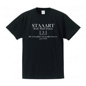 STAAART3周年記念Tシャツ(ブラック)