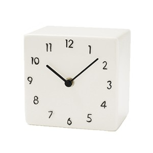 CERAMIC DESK CLOCK【BLACK】