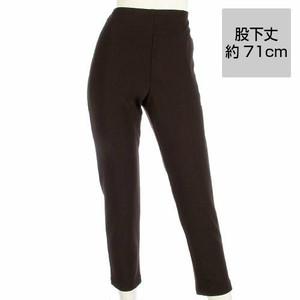 【ジョワイユ】【ピタッツ】インレック 裾スリム 股下丈約71cm ■カラー:ディープブラウン(スリムタイプSサイズ~3Lサイズ) P-IN-18