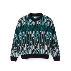 POLAR SKATE CO / PAUL KNIT SWEATER -BLACK-
