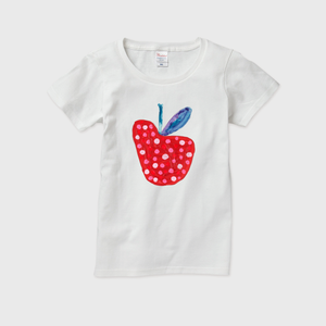 LADYS T-SHIRTS「RED APPLE」