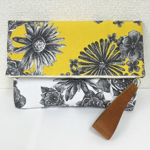"clutch bag ""dot×flower"""