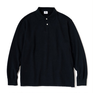 "Just Right ""WFH Polo L/S"" Navy"