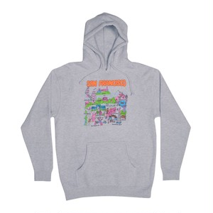GX1000 Tourist Hoodie Grey Heather L ジーエックス