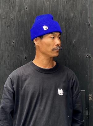 ドギ次郎ニット帽 青(送料込み)