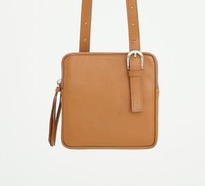 minitmute_twin square bag_milk brown