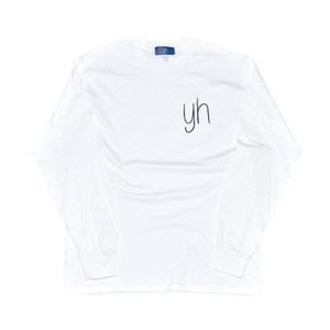 yh Long Sleeve T (WHT/NVY)