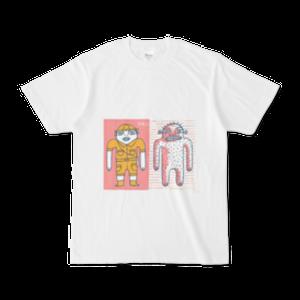 オリジナルTシャツ ヘンな探検家とヘンなイエティ