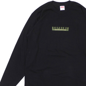 SUPREME 1994 LS Tee BLACK