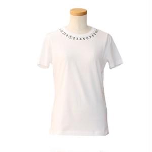 メゾンマルジェラ ( Maison Margiela ) ロゴ入りTシャツ ホワイト