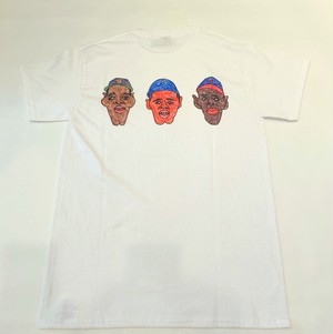 Negro League 3 Player Tee White
