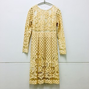 cream lace onepiece