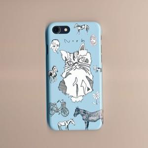 ゆるいネコのスマホケース iPhone専用 (送料込み)