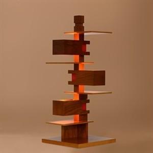 タリアセン Frank Lloyd Wright / TALIESIN4 チェリー S7316 / yamagiwa(ヤマギワ)