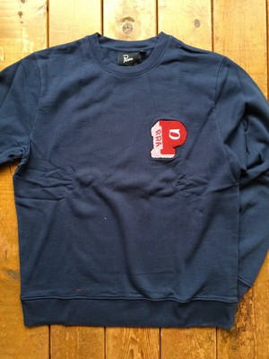 [ by Parra ] block P crew neck