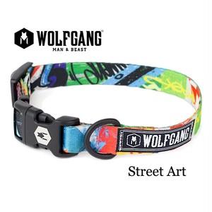 WOLFGANG  Sサイズ  StreetArt  首輪   (ウルフギャング  ストリートアート)