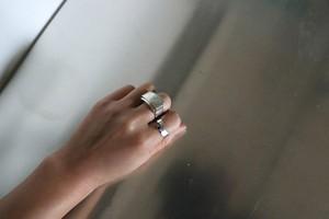 Lapis lazuli silver modern ring