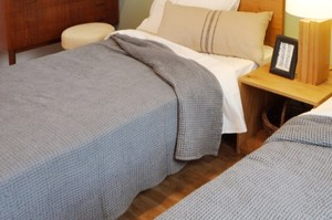 Organic waffle towel-Bed size