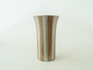 ビールカップ ストライプ素銅色(250ml)
