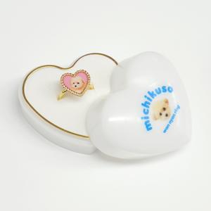 wan nyan ring (くるみピンク)