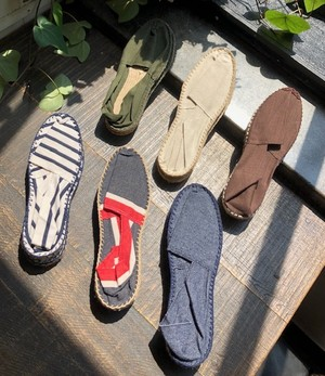 "MADE IN FRANCE     ""ESPADRILLES(BORDER、TRICOLORE)"""