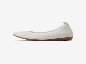 plain rectangular pattern / WHITE