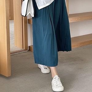 「2021先行AW商品」ミモレ丈プリーツスカート KMXKQ133