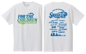 FOR THE CHILDREN Tee (WHITE)【SALE】