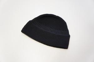 Knit Hat -BLACK- / YOKO SAKAMOTO
