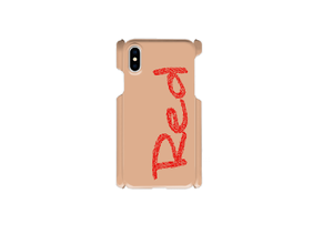"【受注発注】words color series ""Red"" iphone case / iPhone6/7/8/Xその他/Galaxy/Xperia/ARROWS/AQUOS/Huawei"