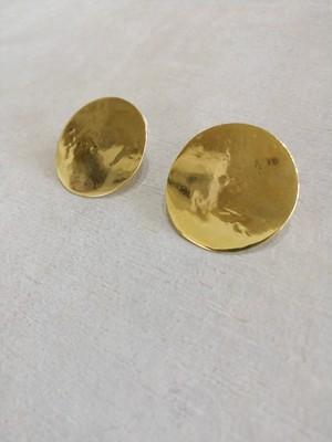 accessories mau/円 brass ピアス